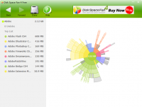 Disk Space Fan 4 Free screenshot