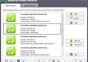 SoundTurn Audio Converter screenshot