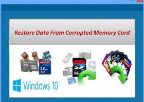 Restore Data From Corrupted Memory Card screenshot