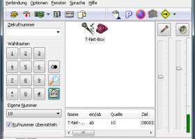 Phoner screenshot