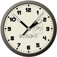 Desktop Clock-7 screenshot