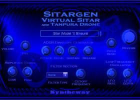 Sitargen Virtual Sitar VST, VST3, AU screenshot