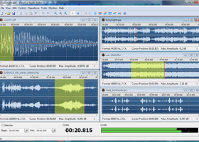 WaveCut Audio Editor screenshot
