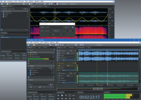 Soundop Audio Editor screenshot