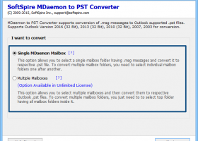 Transfer MDaemon MSG Mails in Outlook screenshot
