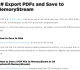 C# Export PDFs and Save to MemoryStream