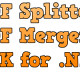 PDF Splitter and Merger SDK for .NET