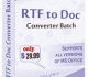 RTF TO DOC Converter Batch