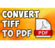 VeryUtils TIFF to PDF Converter Command Line