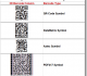 QR Code | Data Matrix 2D Font for Excel