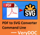 VeryUtils PDF to SVG Converter Command Line